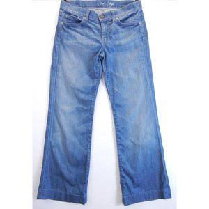 7 FOR ALL MANKIND Womens Dojo Trouser Jeans Flare